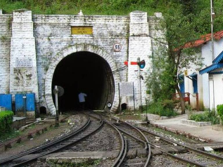 Tunnel No. 33-14-listice
