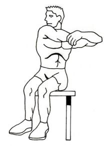 shoulder-stretching